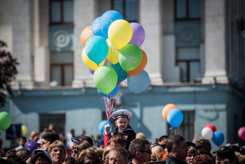 Праздничный концерт, посвящённый Великой Победе, сегодня состоится на главной площади крымской столицы