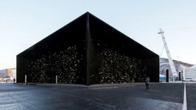 Это космос: в Пхёнчхане открыто здание — черная дыра