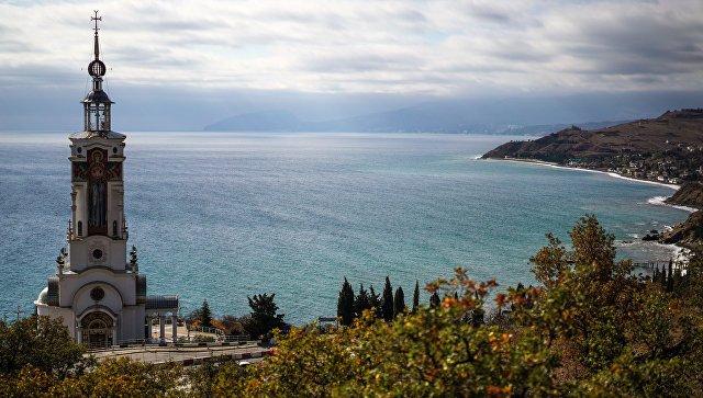 В этом году Крым посетили более 800 тысяч туристов с Украины