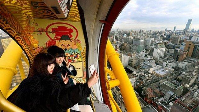 Японцы целых 10 лет чинили колесо обозрения
