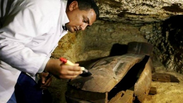 В Египте нашли неразграбленный некрополь жрецов