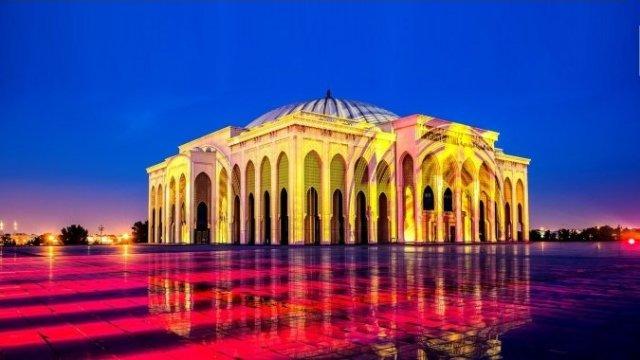 Фестиваль света в Шардже: яркие краски Востока