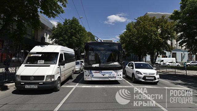 Знаки не купили: почему в центре Симферополя не ввели одностороннее движение