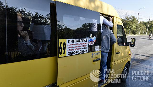 В Симферополе за хамство уволили водителя маршрутки