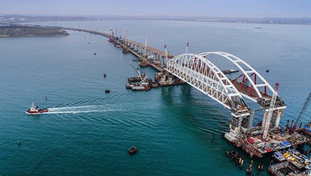 Песков рассказал об участии Путина в открытии Крымского моста