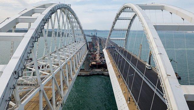 Заказчик сообщил о завершении строительства автодорожной части Крымского моста