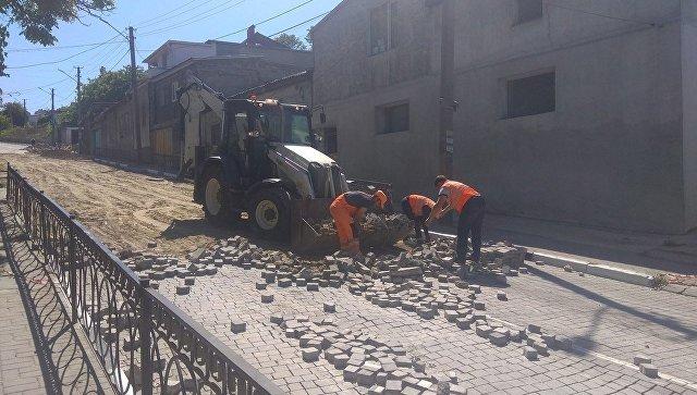 В Севастополе начался ремонт проблемной улицы