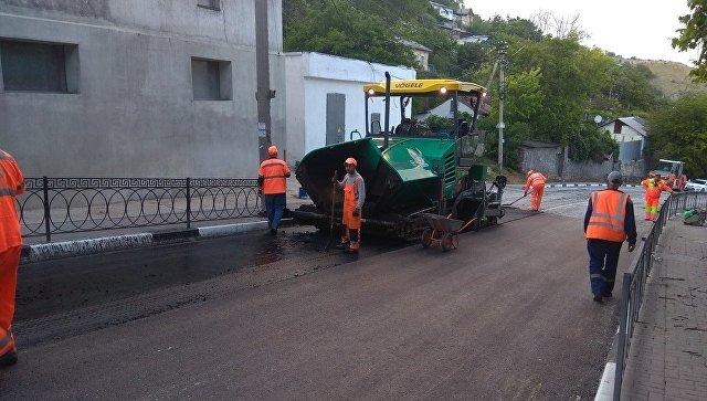 В Севастополе открыли проезд по улице Котовского