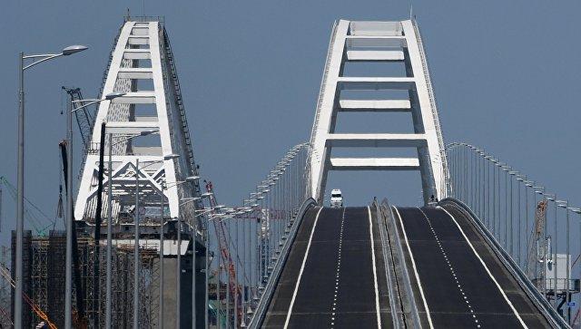 Владимир Путин прибыл в Тамань на открытие Крымского моста