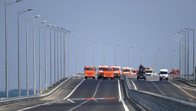 Крымский мост ознаменовал физическое воссоединение полуострова с материковой Россией