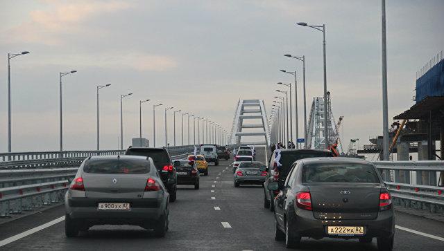Первые нарушения скоростного режима зафиксированы на Крымском мосту