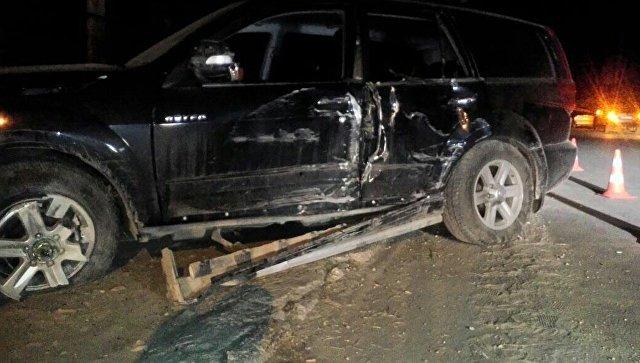 В Симферополе пьяный водитель оставил без света часть района