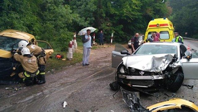 Пьяный полицейский скрылся с места смертельного ДТП в Ялте