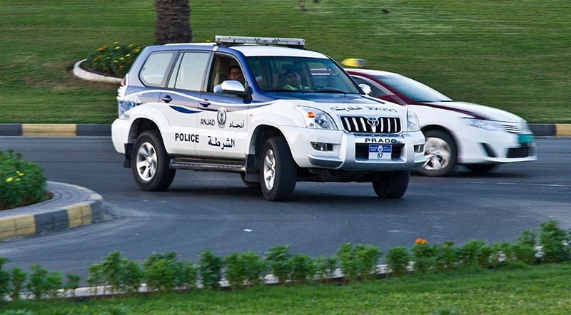 В Абу Даби сбили прогуливающуюся пару