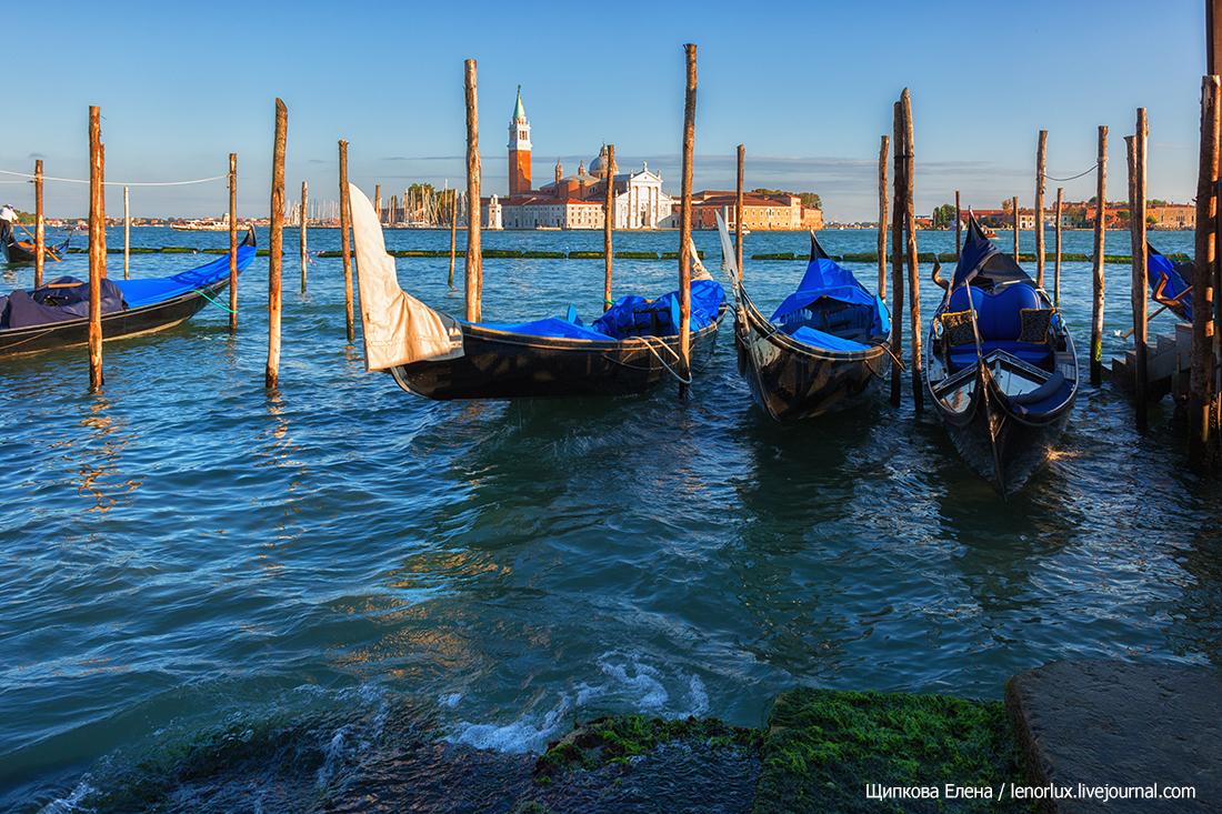 Главный туристический аттракцион в Венеции