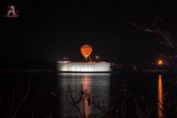 Над бухтой Севастополя в День Победы поднимут аэростат