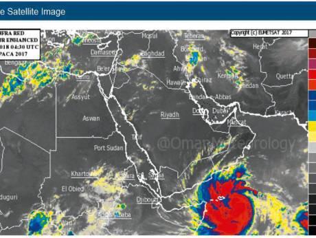 Циклон Mekunu: Национальный центр метеорологии внес ясность для побережья в ОАЭ.