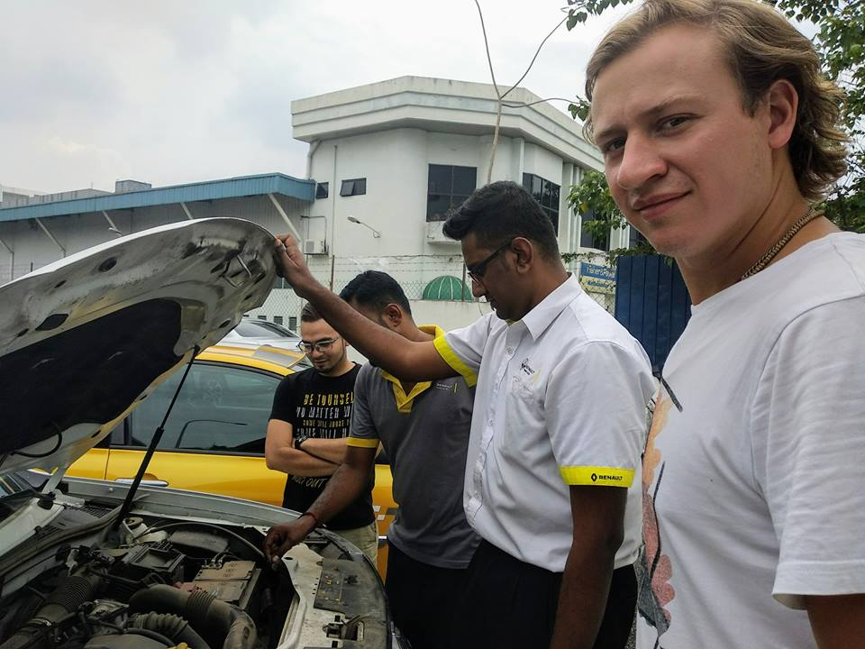 Из Москвы в Малайзию на машине