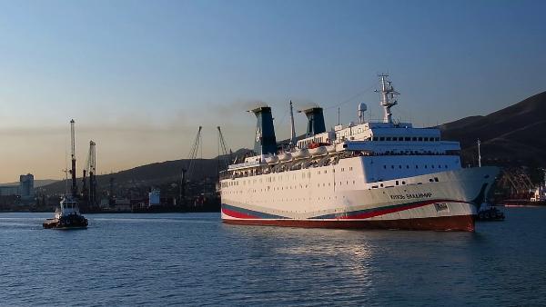 Рейс круизного лайнера «Князь Владимир» отменили из-за пожара