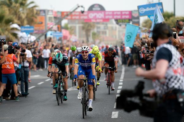 «Большой старт» велогонки Giro d'Italia завершился в Израиле