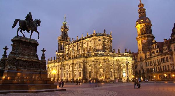 Количество ночевок россиян в Дрездене выросло на 30% в 2017 году