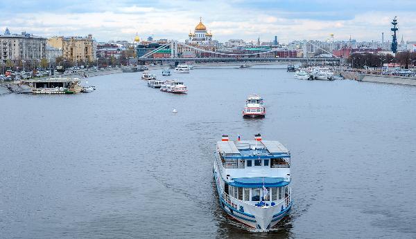 Парад речных судов разных эпох впервые пройдет на Москве-реке 12 мая