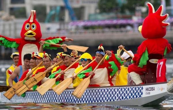 Карнавал драконьих лодок откроется в Гонконге
