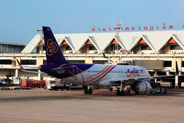 Российский пассажиропоток в аэропорту Пхукета увеличился за I квартал 2018 года на 47%