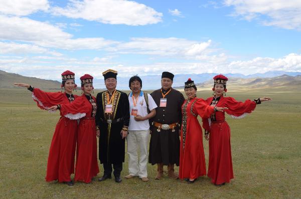 В Калмыкии впервые открылся международный фестиваль ойратских народов