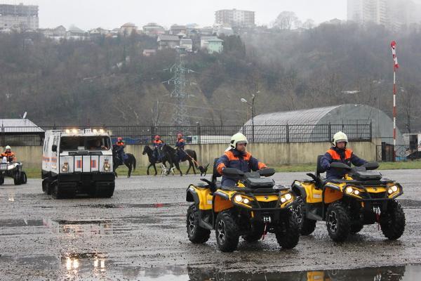 Спасатели будут патрулировать турмаршруты Кубани на конях и квадроциклах во время ЧМ-2018