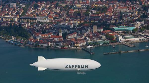 Над озером Бодензее в Германии пустят дирижабль