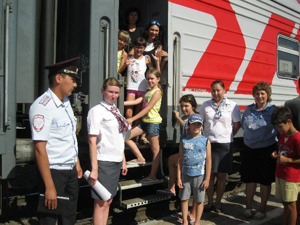 ФПК перевезет этим летом 480 тыс. пассажиров в организованных детских группах