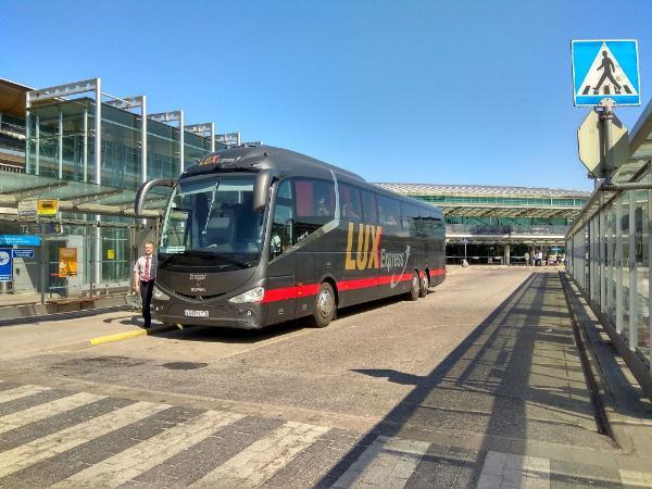 Между Санкт-Петербургом и аэропортом Хельсинки открылся первый регулярный автобусный маршрут