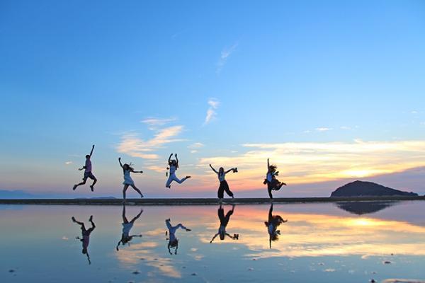 Титибугахама – пляж зеркальных закатов