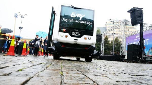 В июне на улицы Норвегии выедет первый самоходный автобус
