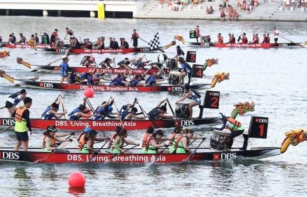 Сингапур приглашает на регату Marina Bay