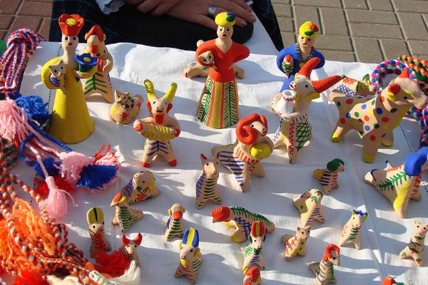 В Курчатове создали музей традиционной глиняной игрушки Курской области