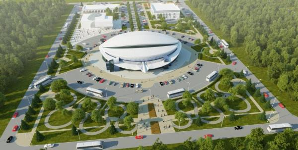 Аквапарк в виде летающей тарелки откроют в Ингушетии до конца года