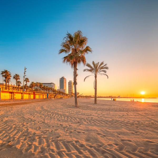 Пляжи Каталонии получили 101 голубой флаг