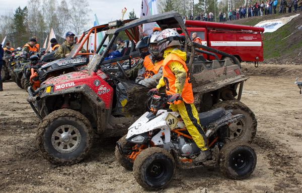 На Алтае впервые провели фестиваль квадроциклов на высоте 800 м над уровнем моря