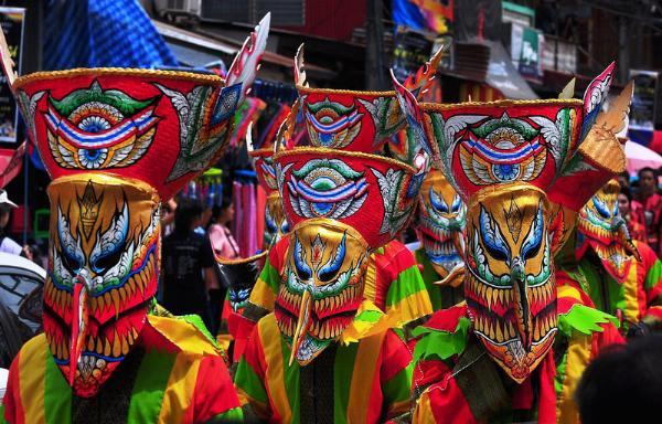 Пхи Та Кхон: Фестиваль духов или «тайский Хэллоуин» в провинции Лей