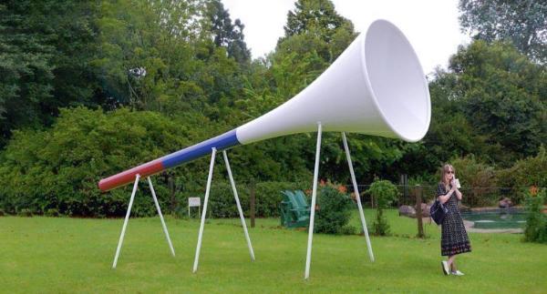 Гигантскую вувузелу установят в парке Сокольники к чемпионату по футболу