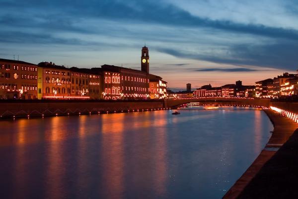 Праздник огней и Регата святого Раньери пройдет в Пизе в середине июня
