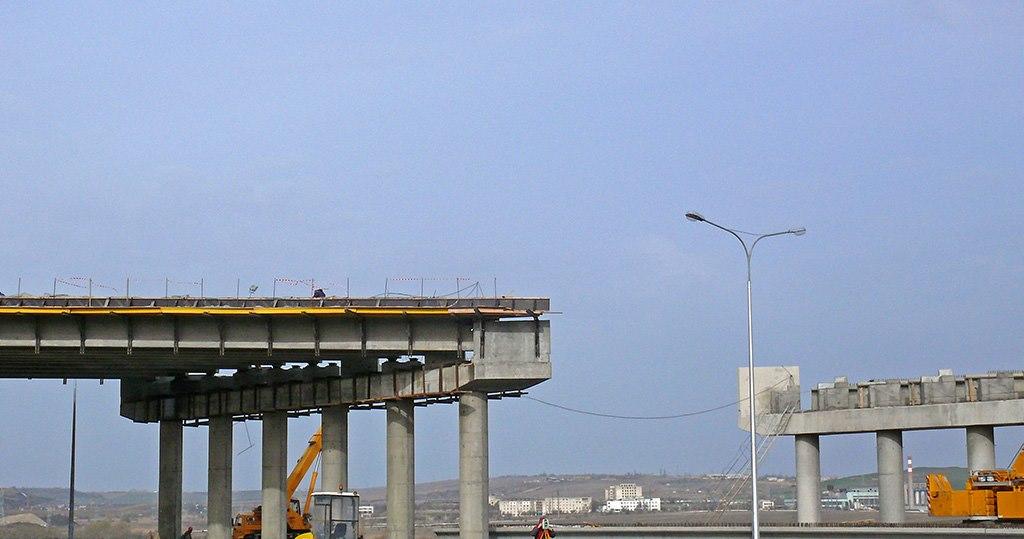 Строительство железнодорожных подходов к Крымскому мосту ускорят