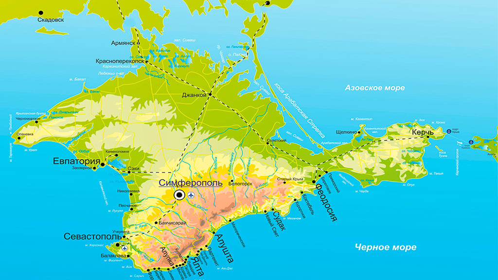 Украина начала разрабатывать проект «Остров Крым»