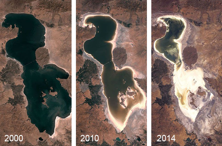 Без воды: водоемы, которым грозит исчезновение с карты Земли