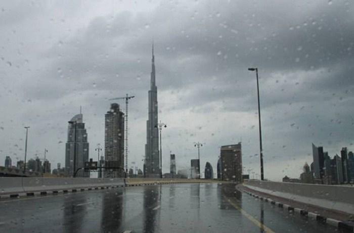 Во вторник и среду, ожидаются дожди в Дубае