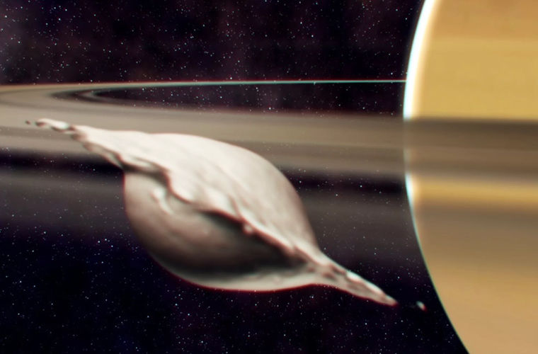 Ученые объяснили, почему вокруг Сатурна летают