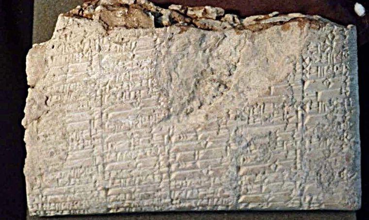 Обнаружены шумерские таблички из затерянного Урука