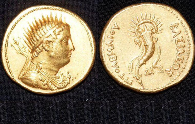 В Египте нашли редкие золотые монеты